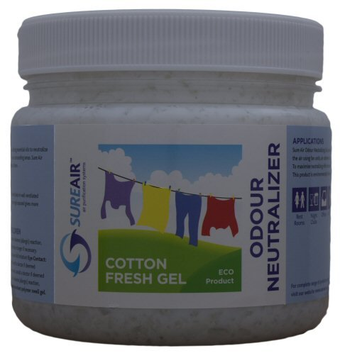 SURE AIR Fesh Cotton gel 1l