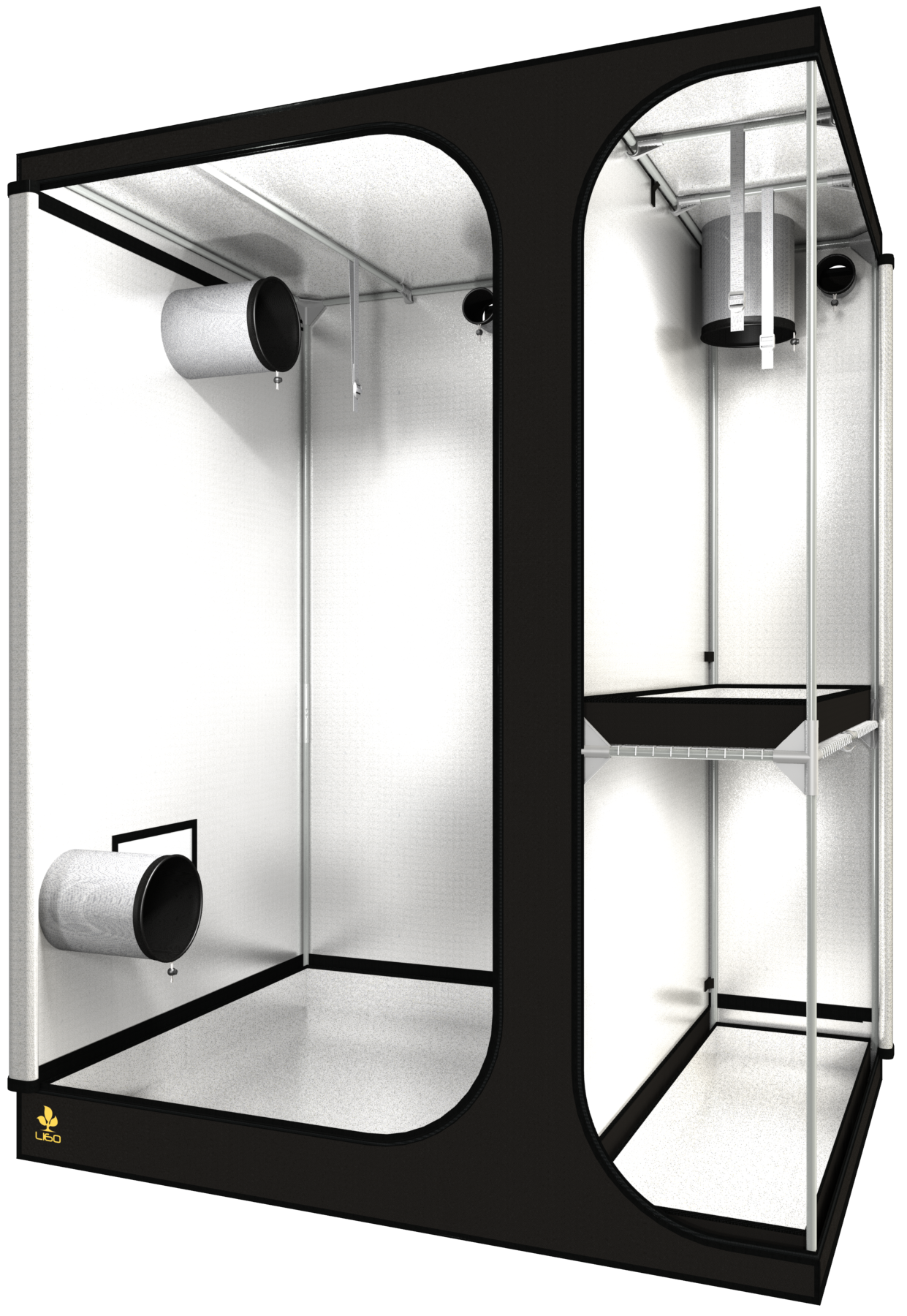 Dark room LODGE L160 REV 2,5 160X120X205cm