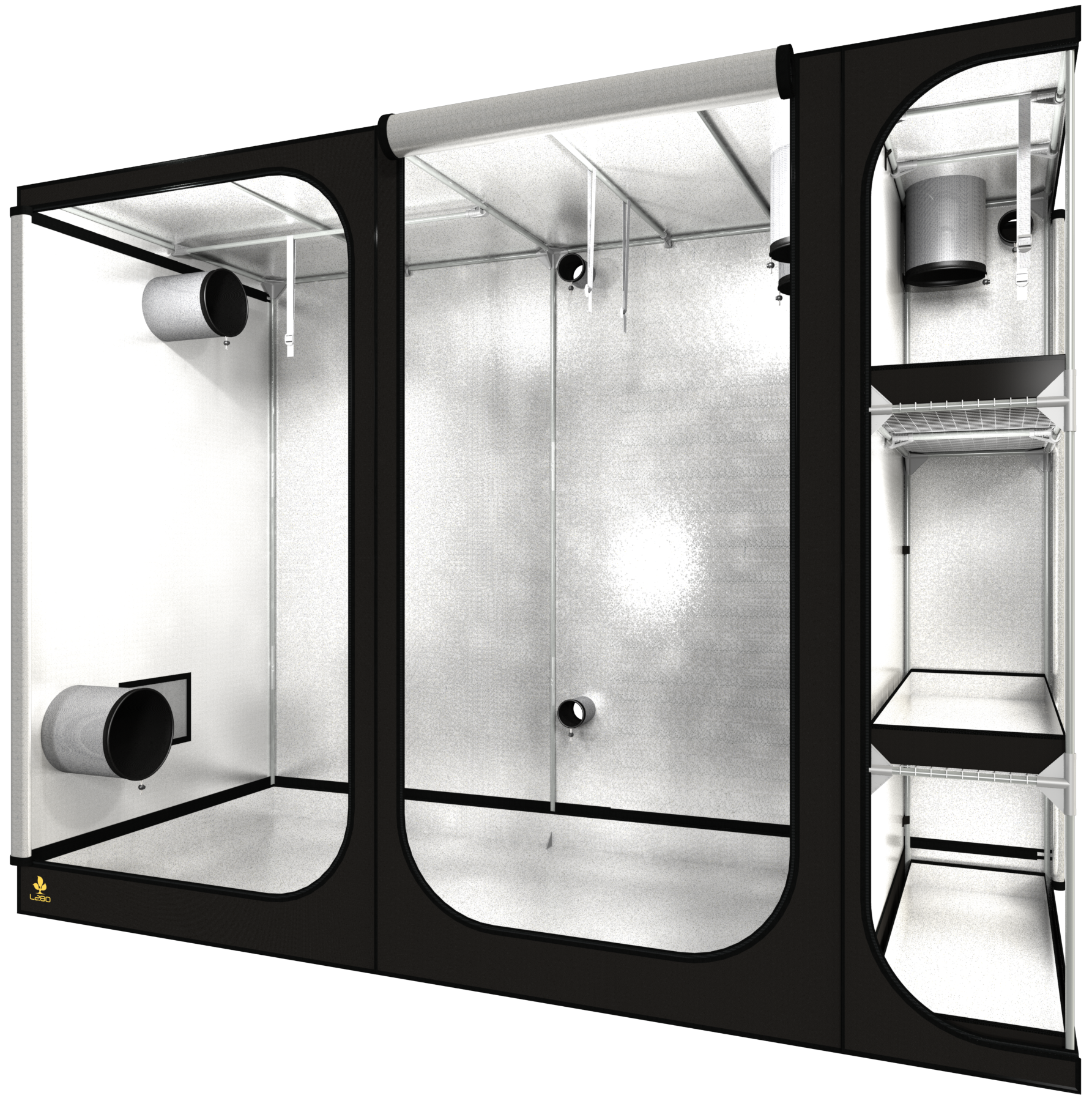 Dark room Lodge L280 REV 2,5 280X120X210cm