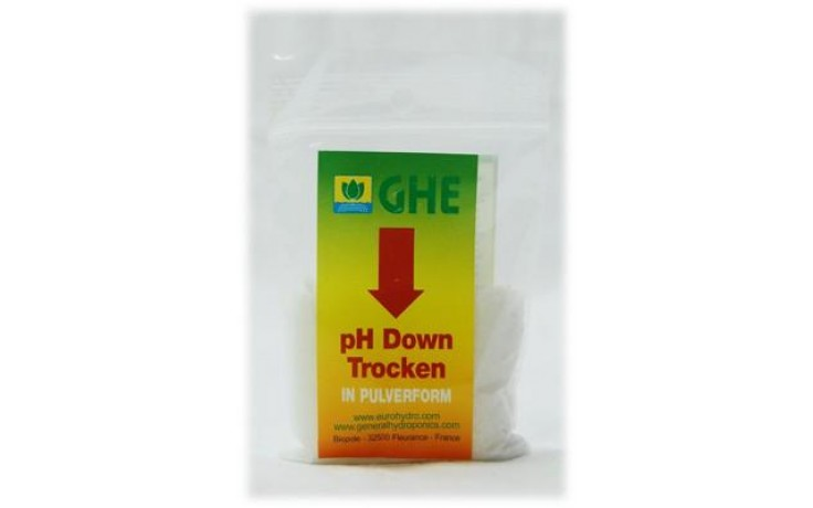 GHE pH Down, Pulver 25gr