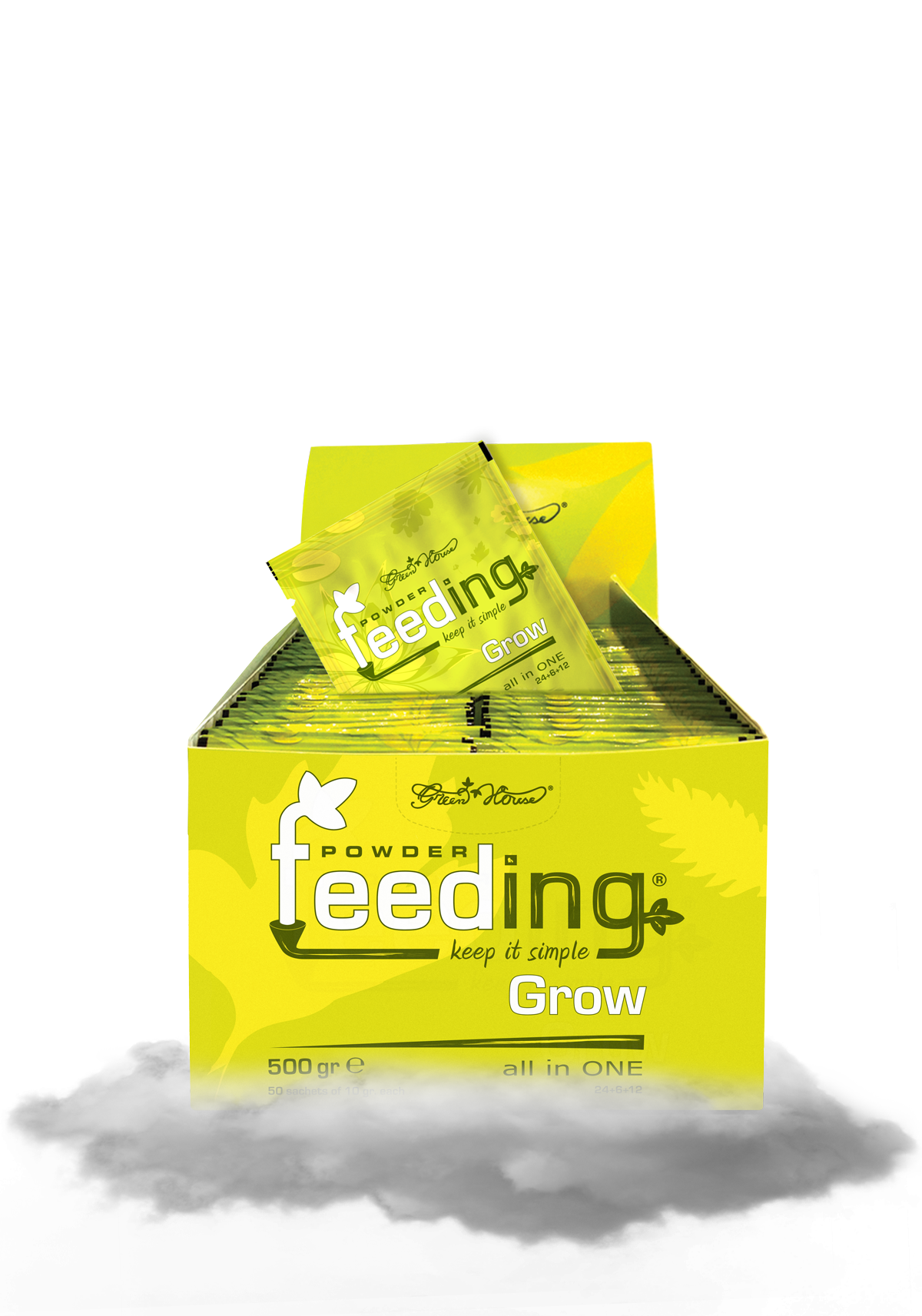 Powder Feeding Grow 500g BOX