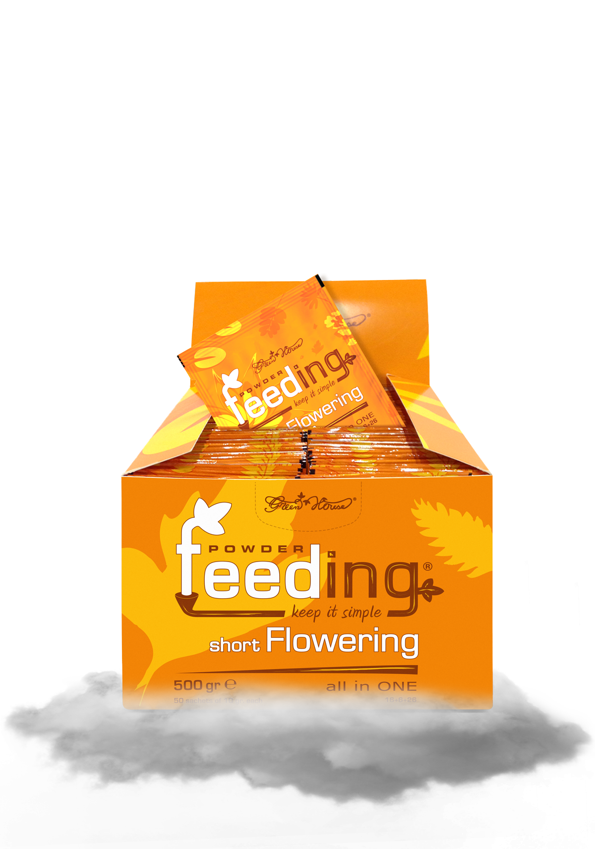 Powder Feeding Short Flowering 500g BOX
