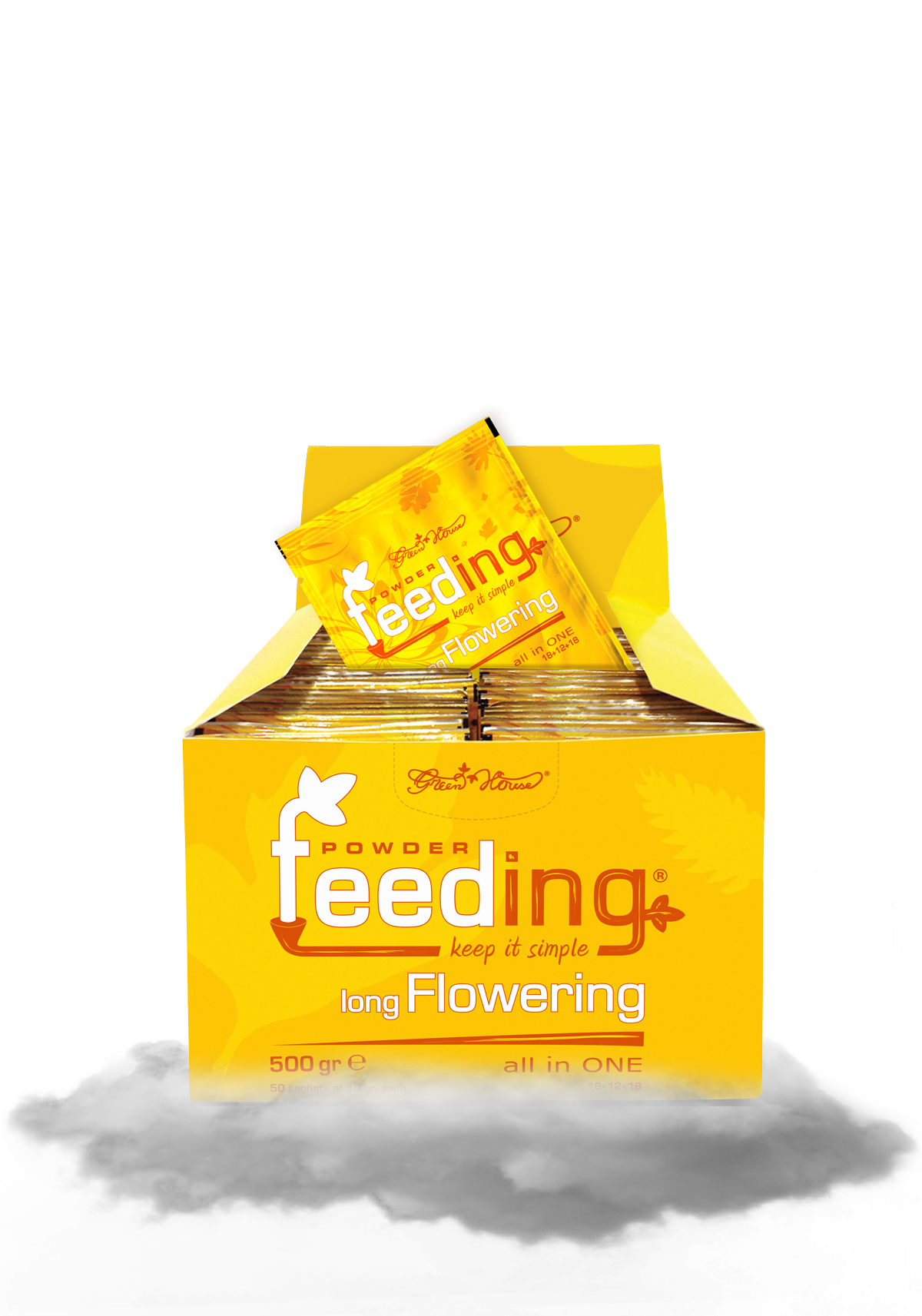 Powder Feeding Long Flowering 500g BOX