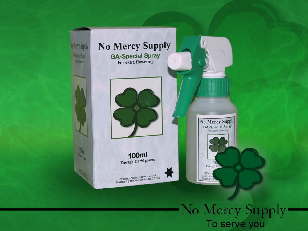 No Mercy Gibberellic spray 100ml