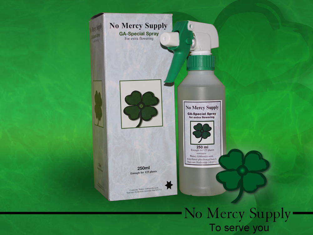 No Mercy Gibberellic spray 250ml
